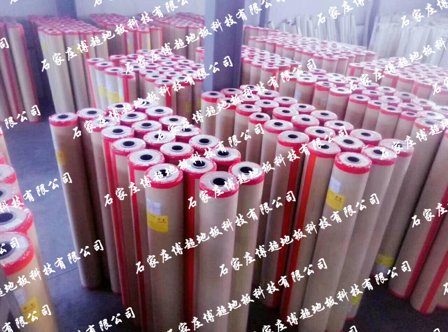 PVC塑jiao地板标件库存车间