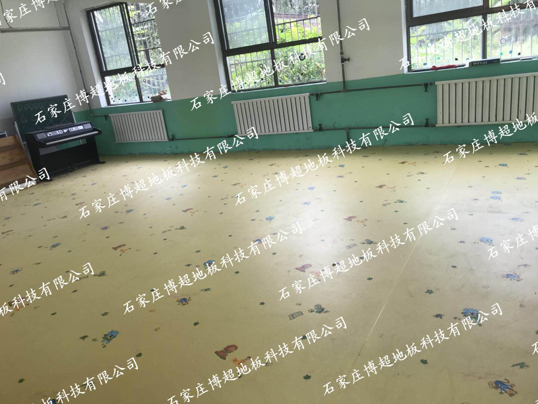 山xi省吕梁市mou幼儿园塑胶地板